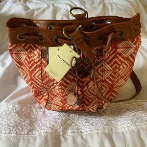 NWT Lucky Brand Bali Hai purse